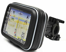 4.3 Inch GPS Sat Nav Waterproof Case w/ Mount Holder Motorcycle Motorbike Cycle