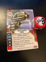Star Wars Destiny Across the Galaxy Jyn Erso/'s Blaster #87 Legendary w// Die