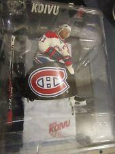 McFarlane NHL Saku Koivu VARIANT white Montreal Canadiens Jersey MAN CAVE DECORE