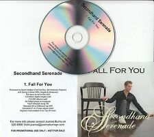 SECONDHAND SERENADE Fall For You 2008 UK 1-track promo test CD + press release