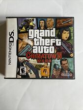 Nintendo Ds - (Gta) Grand Theft Auto Chinatown Wars In Case w/ Manual