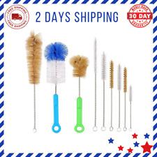 Bottle Brush Pipe Cleaning Kit Bong Brushes Water Bubbler Hose Tips Cleaner New