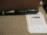 Tony Clark Autographed Professional Model Bat 1998 PSA Certified Game Used