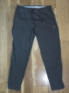 Mack Weldon Men's Gray For Daily Wear Cotton/Spandex Ace Sweatpants Sz XL FLAW