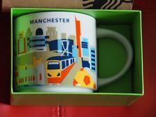 starbucks manchester england you are here yah 14fl oz mug-inc box