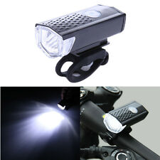 300LM USB Rechargeable Bike Front Light Cycling Bicycle CREE LED Lamp w/ Battery