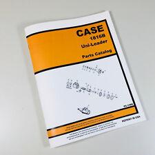 J I Case 1816b Uni Loader Parts Manual Catalog Skid Steer Assembly Exploded View