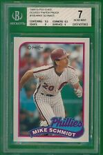 1989 O-pee-Chee Mike Schmidt Glossy Test Proof #100   OPC
