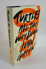 """""""Turtles All the Way Down"""" by John Green, SIGNED, BRAND NEW, First Edition"""
