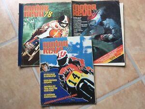 3 Sonderausgaben Motor Revu Holland 1978/1979/1980 Moto GP Motocross Speedway