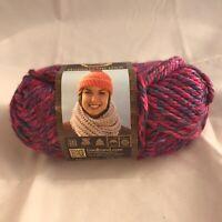 Lion Brand Hometown USA Yarn/Phoenix Azalea/4 oz/100% Acrylic