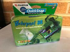 EXPIRED 2001 Fujifilm Quicksnap Waterproof 800 Disposable Camera X-TRA sealed