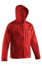 BRAND NEW Red Grundens Weather Watch Hooded Sport Fishing Rain Jacket GAGE