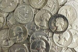 BLOWOUT SALE!! - LOT OLD US JUNK SILVER COINS 1 POUND LB PRE-1965 READABLE DATES