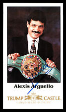 Alexis Arguello Authentic Autographed Signed 4x7 Photo Beckett V62555