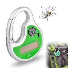 Power Electronic Ultrasonic Anti Mosquito Insect Repeller Compass Solar Charging
