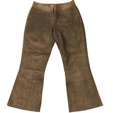R.M. Williams Womens Brown Cowhide Leather Pants Made In Australia Sz 10 TT583