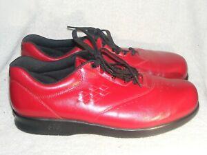 Women's Genuine Leather Shoes by SAS Tripad Comfort -Made in USA - New - Sz 10 W