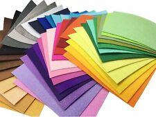 "Misscrafts 42pcs 6"" x 6"" (15x15cm) 1mm Thick Soild Felt Nonwoven Fabric Sheet Pa"
