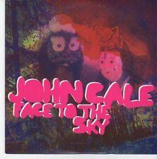 (EB318) John Cale, Face To The Sky - 2012 DJ CD