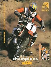 1998 KTM Motocicleta Accessories /Opciones Catálogo/ Catalog: LC4, '98