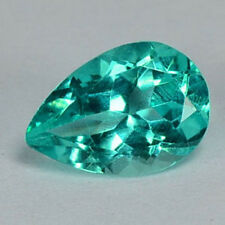 AMAZING ULTRA RARE UNHEATED PARAIBA GREEN NATURAL APATITE 6X4