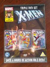 Marvel X-Men triple DVD set - over 6 hours of action - Brand New