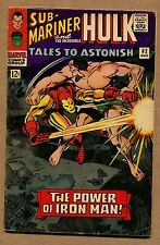 Tales to Astonish #82 - 1st Iron Man Cross Over Outside Avengers - 1966 (5.0)