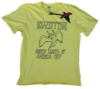 AMPLIFIED LED ZEPPELIN USA Tour 1977 US 77 Rock Star Vintage ViP T-Shirt g.L 52
