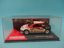 FORD FOCUS WRC 02 #4 - CARLOS SAINZ - RALLY GB RAC 2002 - 1/43 NEW IXO ALTAYA
