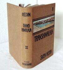 TRANSHIMALAJA  2. Band, SVEN HEDIN, Abenteuer in TIBET - Brockhaus Leipzig 1909
