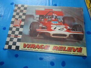 circuit 24 formule 1  jouef 3701 record 64 vintage cuircuit routier électrique
