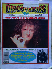 BRIAN MAY & QUEEN STORY - COVER STORY - DISCOVERIES MAGAZINE - SEPT. 1993