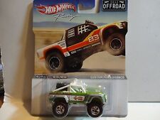 Hot Wheels Racing Offroad Green Custom Ford Bronco w/Real Rider's
