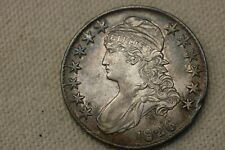 1826 US Mint Silver Bust Half Dollar 50 Cent Coin AU+++