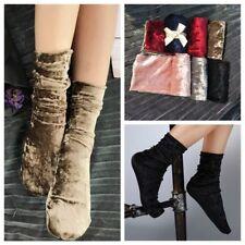 1Pair Fashion Women Girl Casual Velvet Socks Comfort Winter Warm Retro Socks New