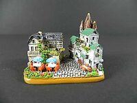 Drosselgasse Rüdesheim Modell,Souvenir Germany Deutschland,handbemalt