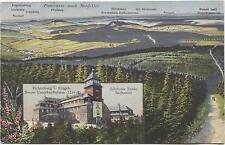 AK + Stempel Fichtelberg-Haus  Oberwiesenthal Erzgebirge 09484