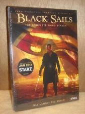 Black Sails - Complete Third Season (DVD, 2016, 3-disc set) Toby Stephens