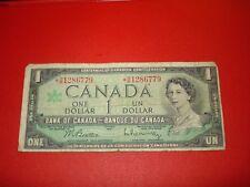 ASTERISK - 1967 - Canada $1 bill - Canadian one dollar note - BM1286779