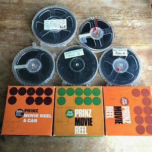 Super 8 8mm Home Movies 8 x Amateur Reels 1970s/80s Job Lot