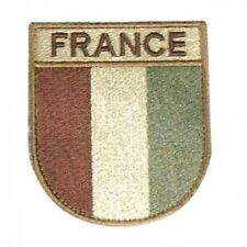 LOT DE 10 ECUSSONS DE BRAS FRANCE DESERT PATCH SABLE TAN ARMEE POLICE OPEX LM