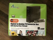 AirLink 101 Digital to Analog TV Converter Box with Analog Pass Through