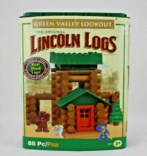 Lincoln Logs Happy Valley Lookout Wooden Building Set   85 Pieces