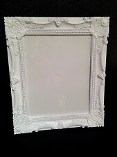 """WHITE BAROQUE ROCOCO FRENCH SHABBY CHIC VINTAGE 8""""x10"""" WALL PICTURE PHOTO FRAME"""