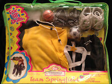 "Designer 18"" Doll Clothes Team Springfield Sports Collection Carrying Case Nib"