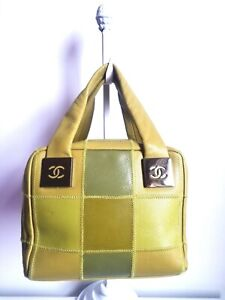 CHANEL SQUARE QUILTED SATCHEL BAG