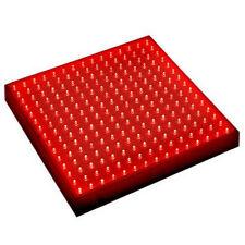 HQRP Panel LED rojo de cultivo interior hidroponia de 225 LEDs 14W + colgantes