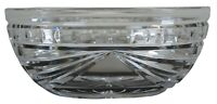 Waterford Cut Crystal Overture Oval Centerpiece Candy Sugar Bowl Nut Dish 10""