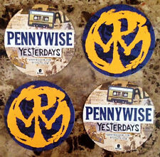 PENNYWISE Yesterdays Ltd Ed 4 New RARE Coasters Lot +FREE Punk Rock Stickers!